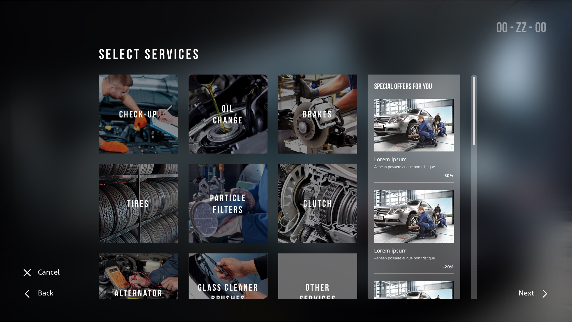 8_serviços store