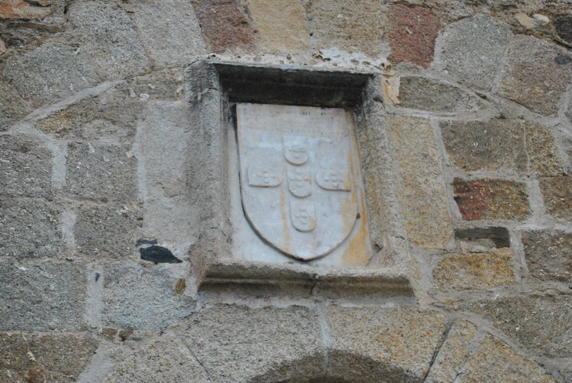 Epígrafe Castelo - Torre-Porta